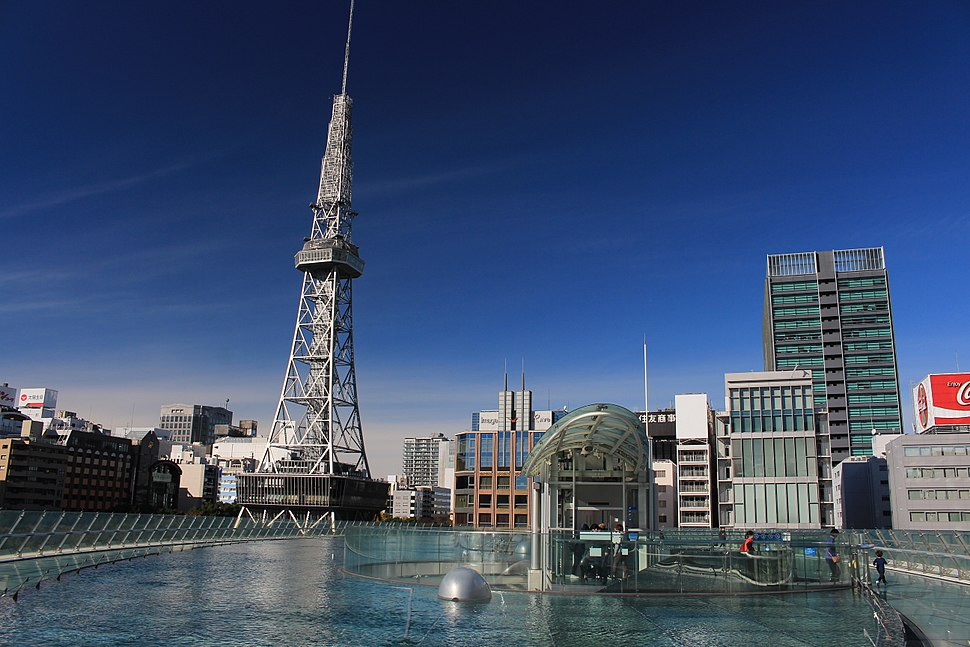 Nagoya TV Tower from Oasis 21 s2