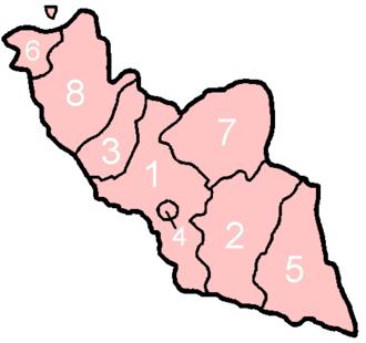 Administrative divisions of Azerbaijan - Image: Nakhichevan subdivisions