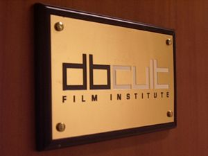 DBCult Film Institute - Nameplated DBCult Film Institute