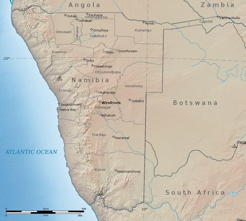 Namibia Tarkein Tietoa Matkailijoille 2020
