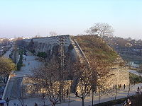 Remnants of the Ming Dynasty City Wall in Nanjing