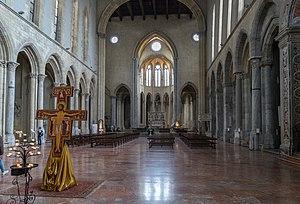 San Lorenzo Maggiore, Naples - interior of San Lorenzo