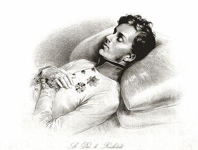 Napoleon II dödsbädd