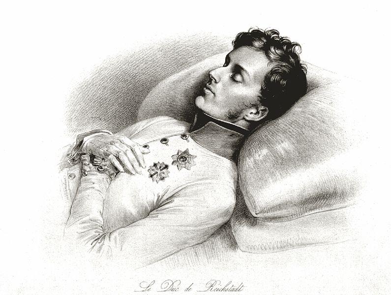 Fichier:Napoléon II sur son lit de mort.jpg