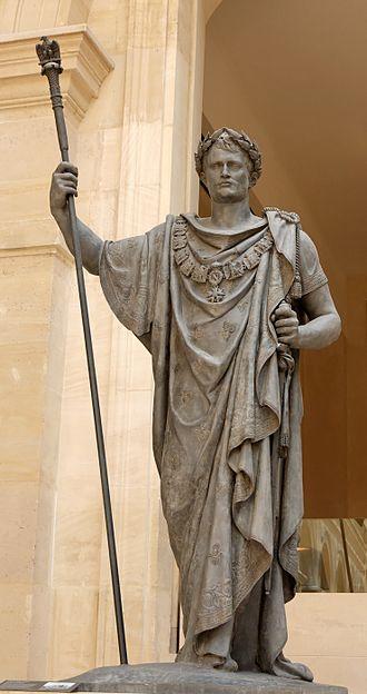 François-Frédéric Lemot - Napoleon in Triumph, 1808.