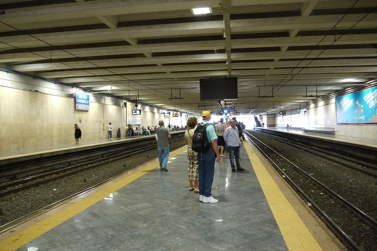 Stazione di napoli garibaldi wikipedia - Stazione porta garibaldi mappa ...
