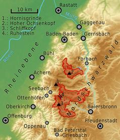 Nordschwarzwald Karte.Nationalpark Schwarzwald Wikipedia