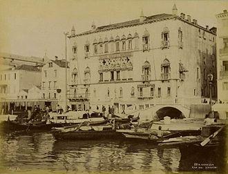Hotel Danieli - Hotel in the late 19th century