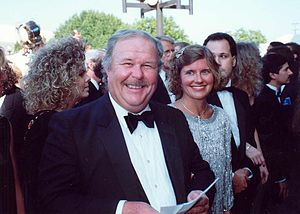 Ned Beatty - Beatty at the 1990 Annual Emmy Awards