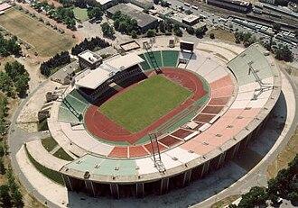Ferenc Puskás Stadium (1953) - Image: Nepstadion 1