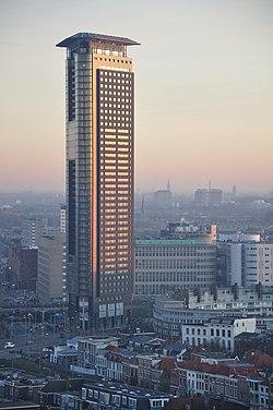 Netherlands, The Hague (Den Haag), Stationsbuurt, Strijkijzer.JPG