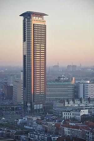 Het Strijkijzer - Image: Netherlands, The Hague (Den Haag), Stationsbuurt, Strijkijzer