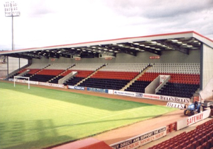 Excelsior Stadium - View from Jack Dalziel stand toward South stand
