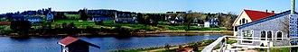 New Glasgow, Prince Edward Island - Panoramic view of New Glasgow