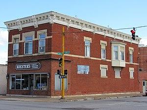 Nicholas Koester Building - Image: Nicholas Koester Bldg, Davenport, Iowa 2