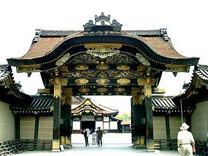Karahafu - Image: Nijo Castle Karamon 1