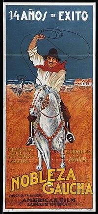 Nobleza Gaucha Película De 1915 Wikipedia La