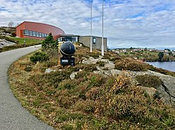 Nordsjøfartmuseet i Tælavåg (North Sea Traffic Exhibition), naval mine (hornmine), Telavaag, Sotra, Norway 2017-10-23 d.jpg