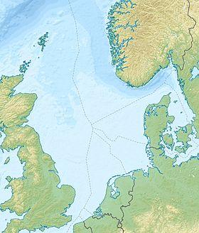 (Voir situation sur carte: mer du Nord)