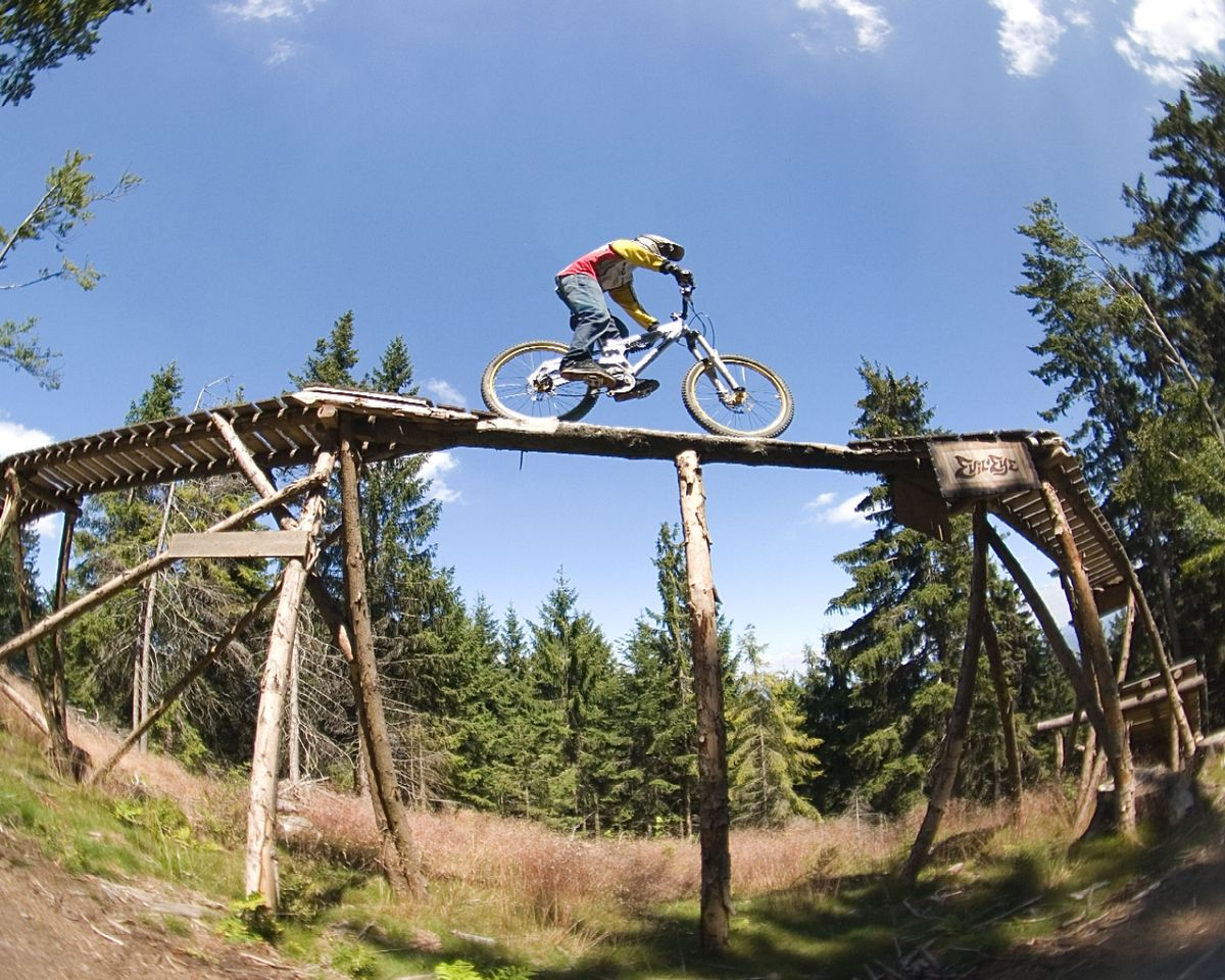 Mountain Biking In British Columbia