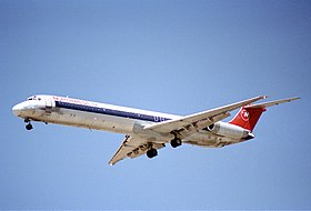 Northwest Airlines MD-82; N301RC@LAS;03.08.1995 (5491954330).jpg
