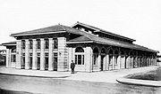 Norwood Ohio Market House Farmers Market Circa 1910
