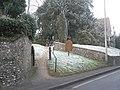 Notice board outside Corhampton Church - geograph.org.uk - 1114972.jpg