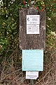 Notices by the path - geograph.org.uk - 1503703.jpg