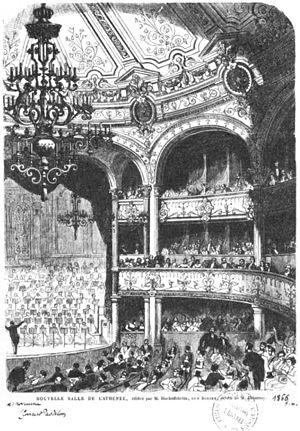 Théâtre de l'Athénée (rue Scribe) - Salle de l'Athénée, 1866