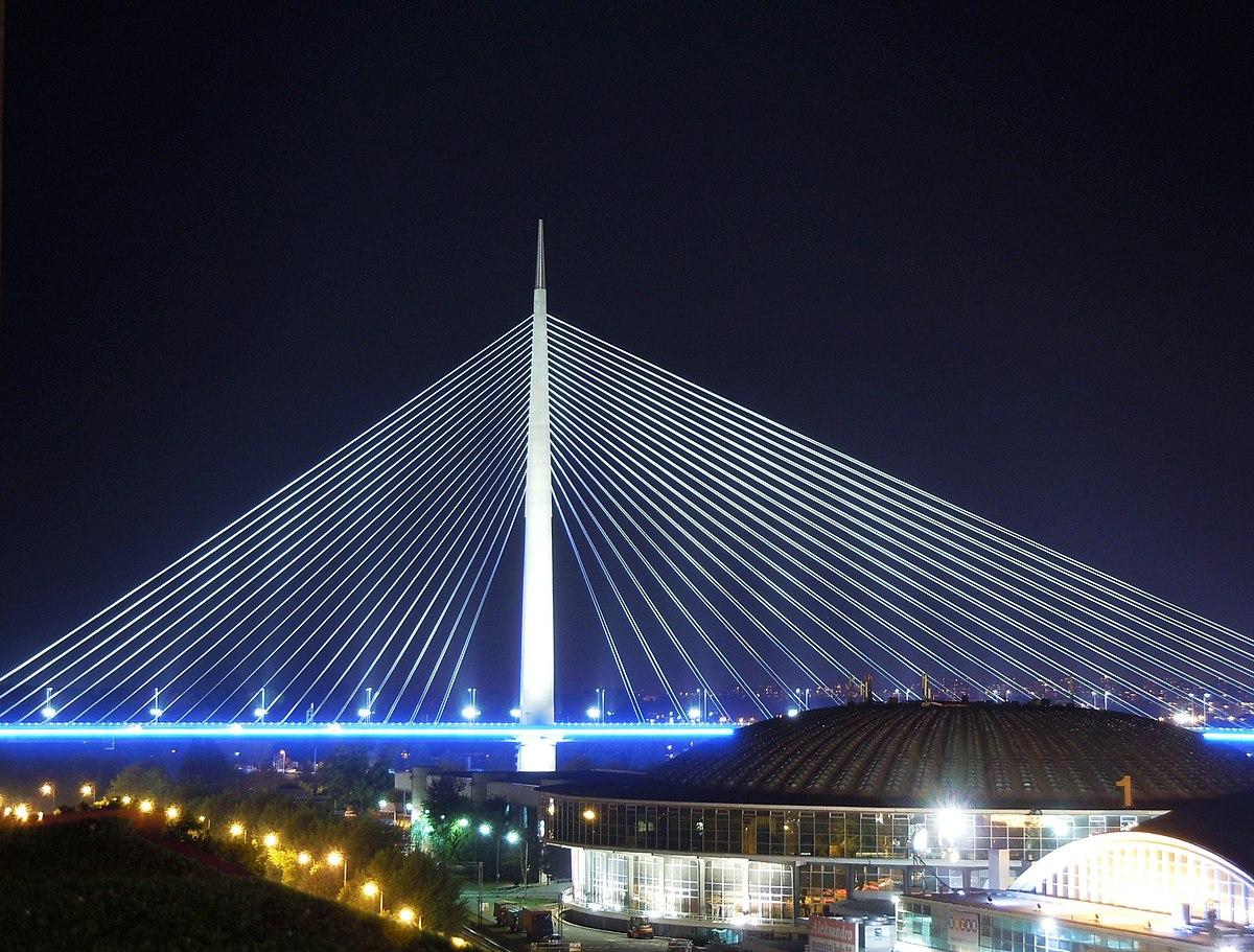 mapa beograda most na adi Ada Bridge   Wikipedia mapa beograda most na adi