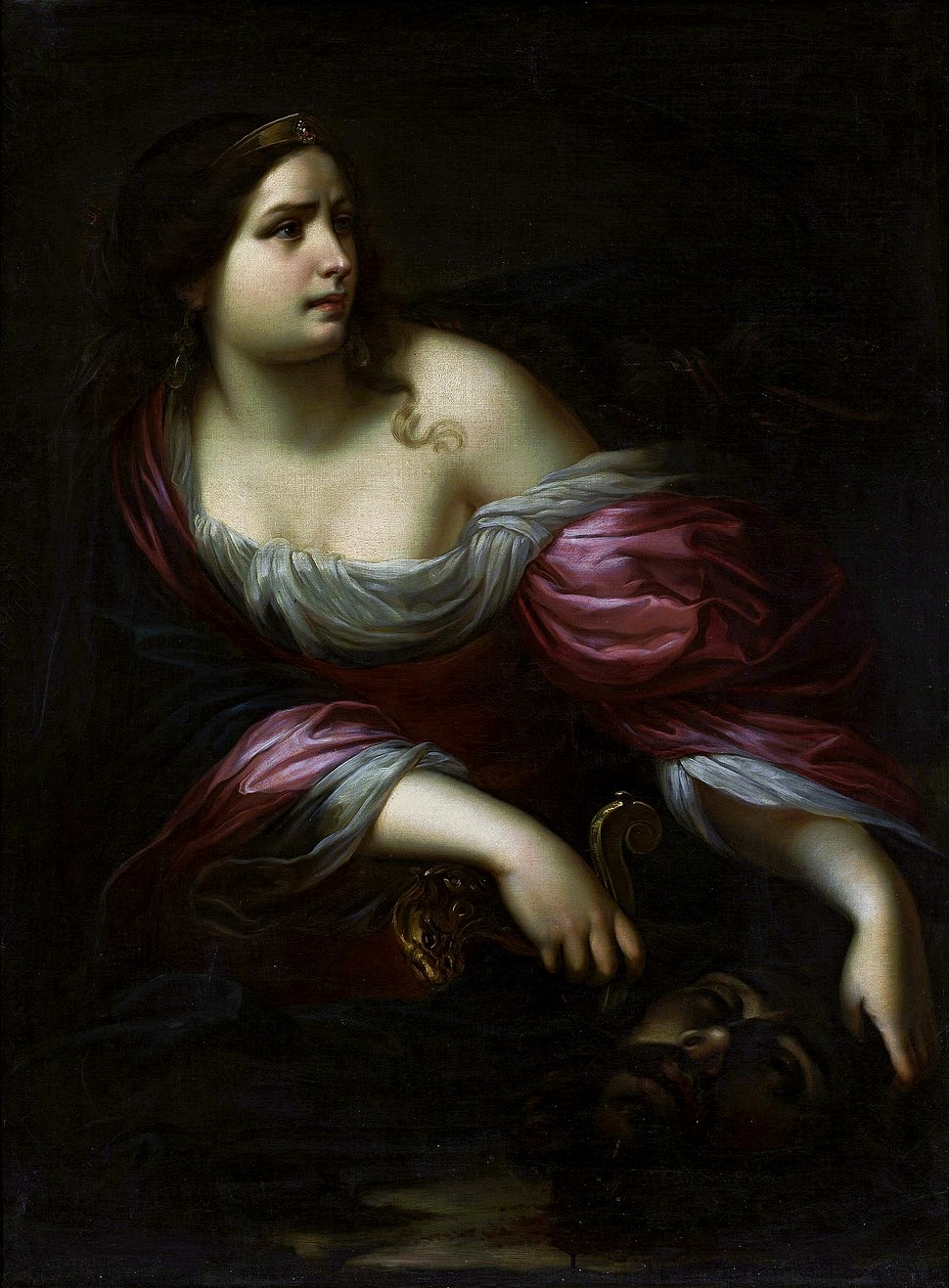 Nuvolone Judith with the head of Holofernes