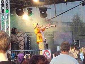 Petri Nygård - Petri Nygård at Sataman Yö Festival in Jyväskylä.