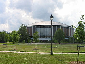 Convocation Center (Ohio University) - Center