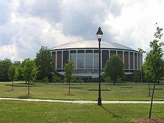 Convocation Center (Ohio University) - Center
