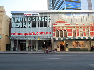 Raine Square property in Perth, Western Australia