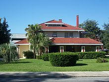 Helvenston House, part of the Ocala Historic District, in Ocala, Florida Ocala Historic District FK1027.jpg