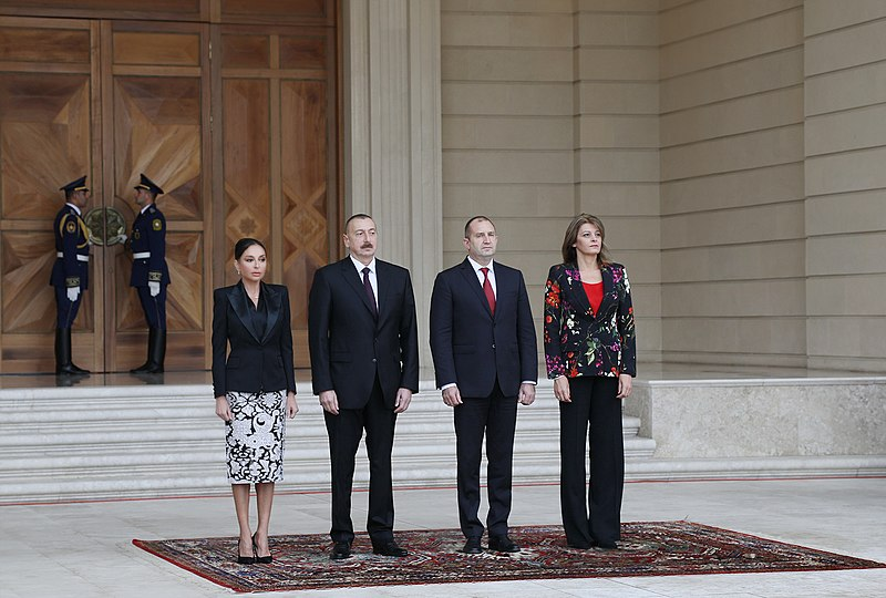 File:Official welcome ceremony was held for Bulgarian President Rumen Radev 3.jpg