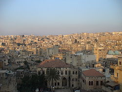 View of historical districts of Tripoli. Image: Tadmouri.