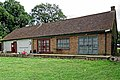 Old Cholmeleians Sports Club pavilion at Mill Hill, London, England 2.jpg