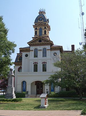 Cabarrus County, North Carolina - Image: Old Courthouse Concord 1