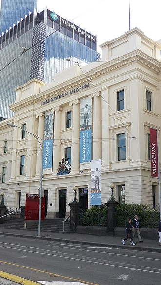 Smith & Johnson - Current photo of the Old Customs House designed by Arthur Johnson. 400-424 Flinders Street, Melbourne, VIC