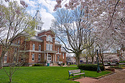 Old Simpson County Courthouse in Franklin, Kentucky