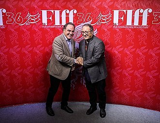 Fajr International Film Festival - Oliver Stone and Reza Mirkarimi at the 2018 Fajr International Film Festival