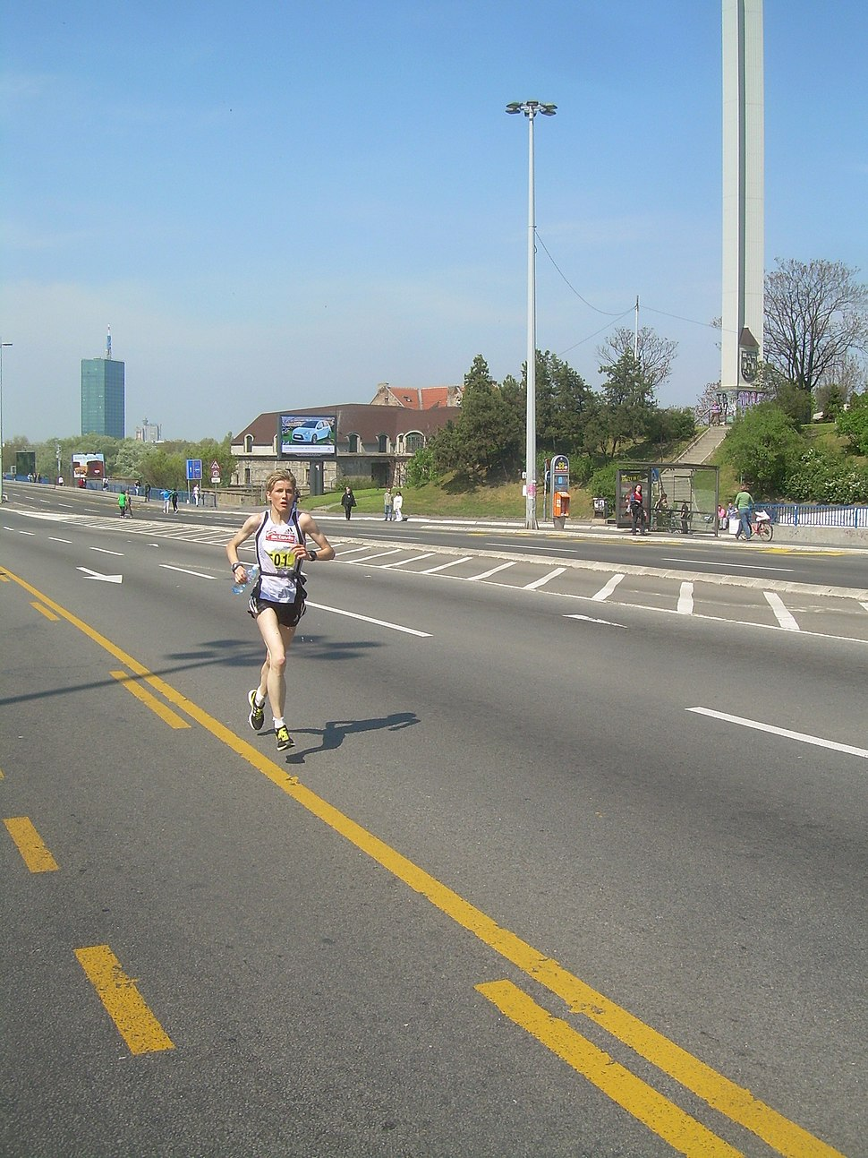 Olivera Jevtic 23 Belgrade Marathon