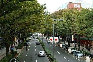 Jingūmae District in Shibuya, Tokyo, Japan