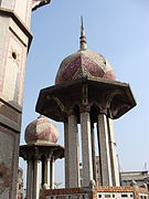 One of the smaller Minarets of the Right side of the Chawkbazar Shahi Mosque.jpg