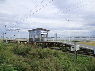 Onoekōkōmae Station - Onoekōkōmae Station in September 2010