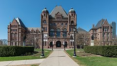 Ontario Legislative Building, Toronto, South view 20170417 1.jpg