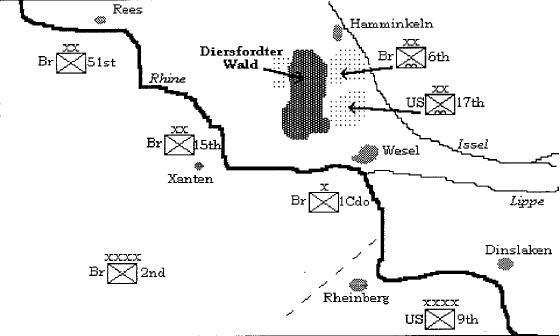 Operation Varsity map