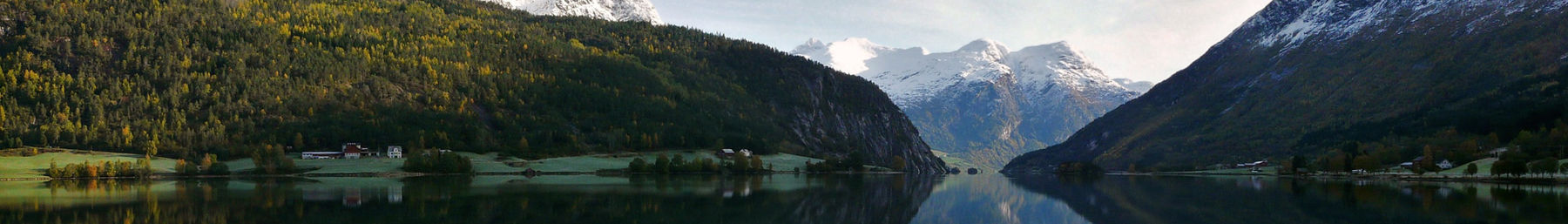 Stryn lake in October